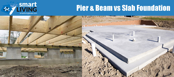Pier and beam vs slab foundation smartliving real estate for Cost to build pier and beam foundation