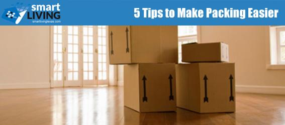 5 Tips to Make Packing Easier