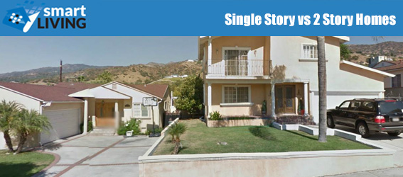 Single Story vs 2 Story Homes