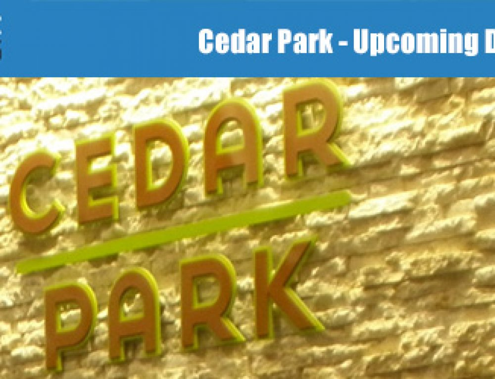 Cedar Park: Upcoming Developments